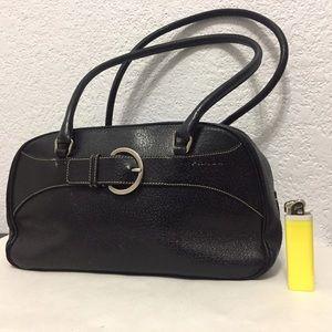 Prada Leather Purse with Prada lock & keys