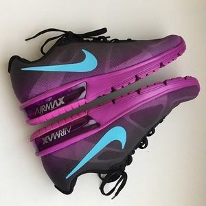 Nike Shoes - Nike Air Max Sequent Black Blue Purple