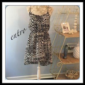 #120  ENTRO HI-LO DRESS