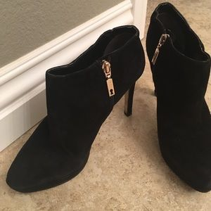 Ivanka Trump Shoes - Ivanka Trump Suede Booties