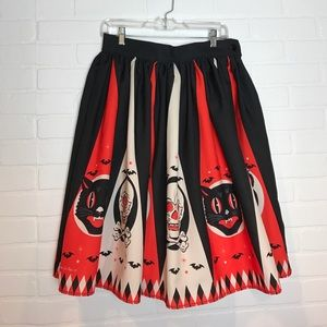 the oblong box shop Dresses & Skirts - RARE Halloween Treat Skirt - The Oblong Box Shop L