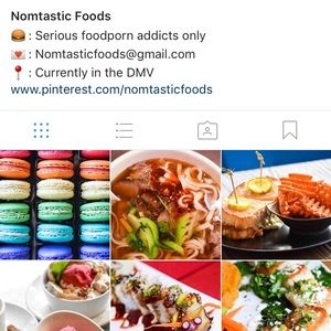 Accessories - Started a new food account called @nomtasticfoods