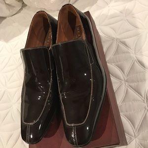 Mezlan Other - Mezlan Brown Patent Jacque Men's Dress Shoes