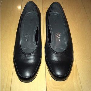 ara Shoes - ara black loafers