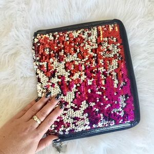 Melie Bianco Sequin iPad Case