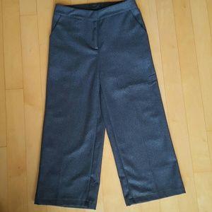 Pants - Wide-leg Crop pants