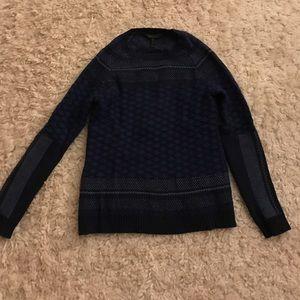 BCBGMaxAzria Sweaters - BCBG MAXAZRIA blue sweater XXS/XS