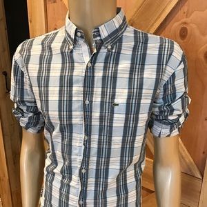 Lacoste Other - 👔 New Men's Lacoste Perfect Plaid!