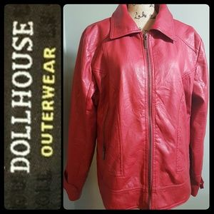 Dollhouse Jackets & Blazers - Dollhouse Outerwear Faux Leather Jacket