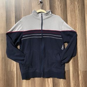 American Vintage Jackets & Blazers - Gray and navy blue jacket
