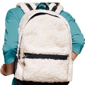 PINK Victoria's Secret Other - VS SHERPA WHITE BACKPACK NWT-soldout@stores/onL