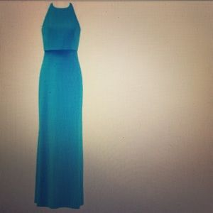 Jill Stuart Dresses & Skirts - NWT! Blue Gown- gorgeous open back gown!