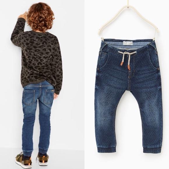dc7273185 Zara Bottoms | Jogger Jeans Boys | Poshmark