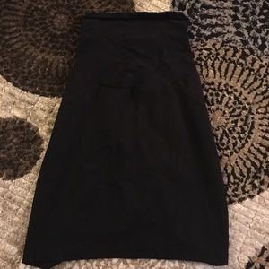 Motherhood Maternity Dresses & Skirts - Black maternity pencil skirt