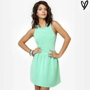 Lulu Dresses & Skirts - 💐SALE💐🎉HP 2/24/17🎉💚MINT GREEN SKATER DRESS💚