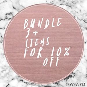 BUNDLE 3+ for 10% off