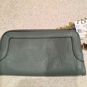 Aimee Kestenberg Handbags - 💚Foam Green Genuine Leather Wallet💚