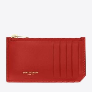 Saint Laurent card holder!