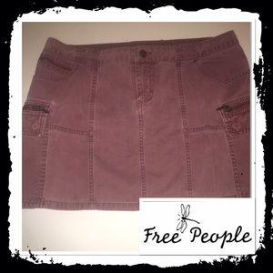 Free People Dresses & Skirts - Free People cargo mini skirt