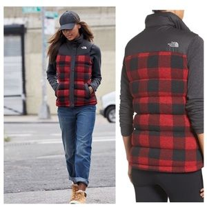 The North Face Jackets & Blazers - North Face down plaid vest