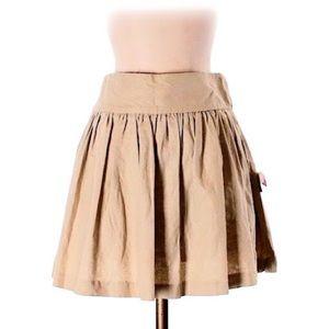 Chic Classic ASOS Tan Skater Skirt (Size 4)