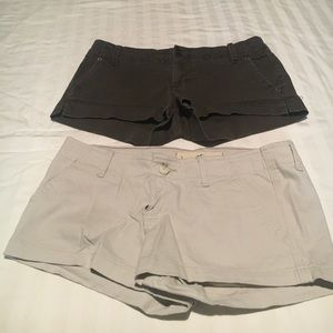 A&E and Hollister shorts