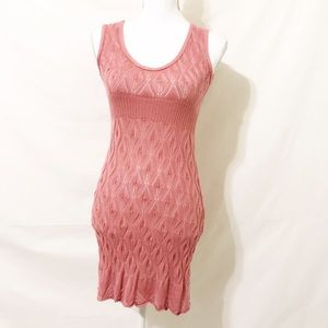 FIRM 欄  Dolce Vita Rose Knit Sleeveless Dress
