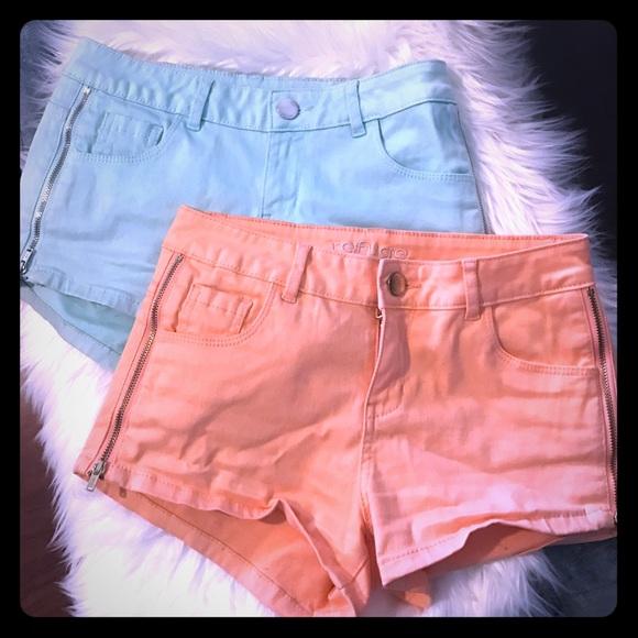 refuge Pants - Charlotte Russe shorts - size 0
