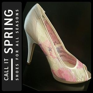 Call It Spring Shoes - Call It Spring Peep Toe Pumps