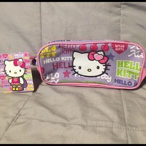 Sanrio Hello Kitty Zippered Pouch NWT