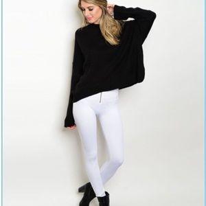 Nordstrom Pants - ❗️1 LEFT Nordstrom Winter White Chic Leggings NWT