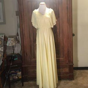 Vintage Buttercup 70's Dress
