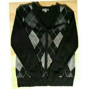 St. John's Bay Sweaters - 🎉🎊St John's Bay Argyle Cardigan