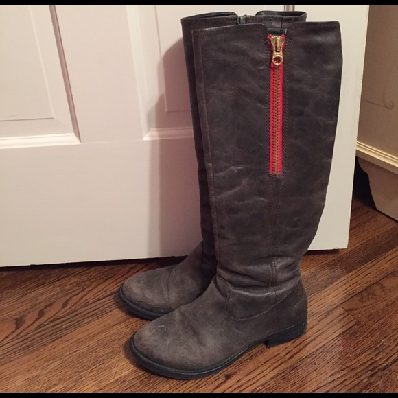 "Steve Madden Shoes - Steve Madden ""scribal"" leather riding boot"