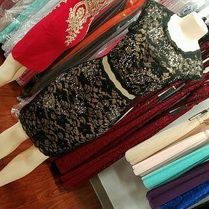 SALE!! Two piece illusion dress short