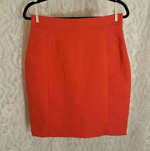 Red H&M Pencil Skirt