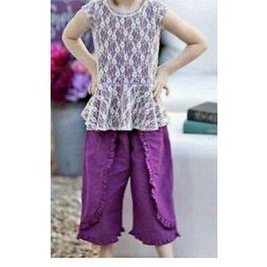 Matilda jane purple plum poet outfit  NWOT