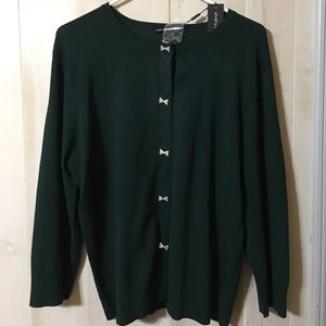Cable & Gauge Sweaters - NWT Forest Pine Cable & Guage Sweater, Size XL