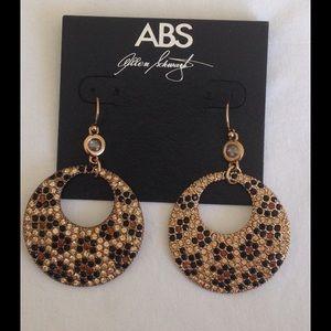 A.B.S By Allen Schwartz Jewelry - A.B.S By Allen Schwartz Animal Print Earrings
