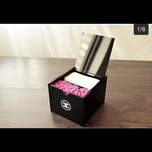 CHANEL Other - Chanel Acrylic Q-tip & cotton pad organizer