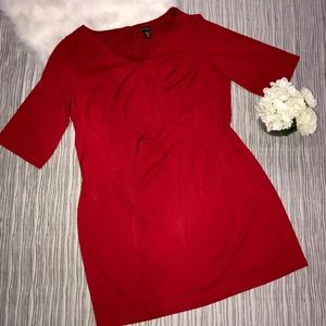 new directions Dresses & Skirts - Plus size New Directions red Sheath dress