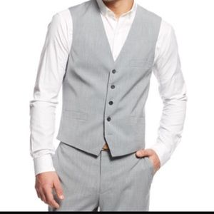 INC International Concepts Other - 2x HP! NWT INC Merrone Gray Vest