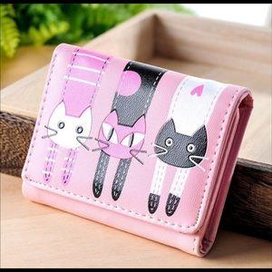 Pink Bifold Wallet