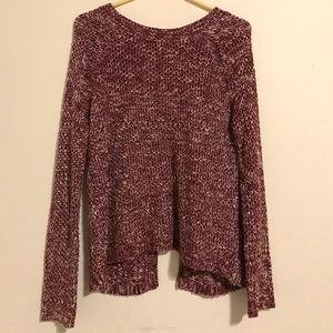Etiquette Clothiers Sweaters - Open Back Knit Sweater