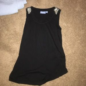Cute party tank top with sparkles beads!