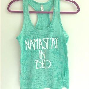 SALE Namaste... in bed  NWOT