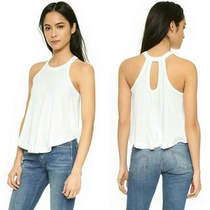 Free People  Tops - New! FREE PEOPLE Sleeveless Ribbed Tank Top NWT