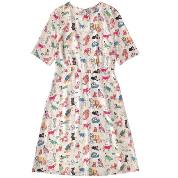 Cath Kidston Dresses Dog Print Dress Poshmark