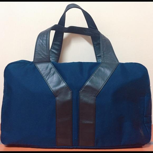 48e1157ea9dc Authentic YSL Perfume navy canvas tote bag. M 58a041f678b31c0aa505e272