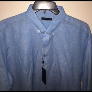 Zachary Prell Other - Zachary Prell cloud blue button down